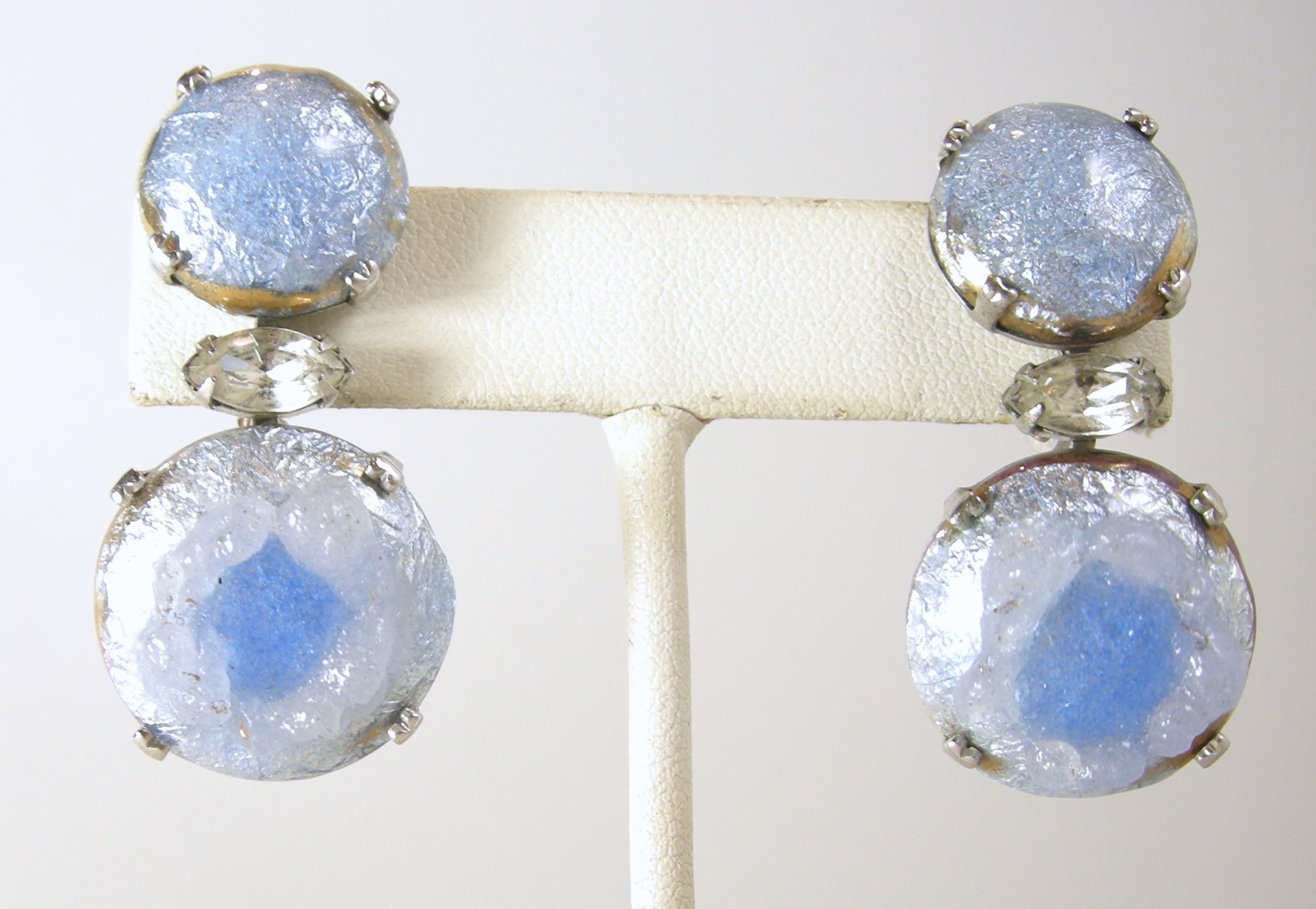 bluedropearrings