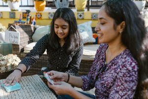 children learning through montessori education